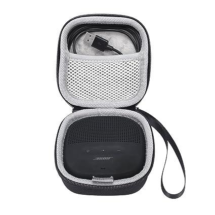 Bose SoundLink - Carcasa rígida protectora para altavoz Bose SoundLink Micro Bluetooth negro negro