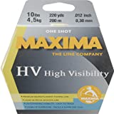 Maxima Fishing Line One Shot Spool, High Visibility Yellow