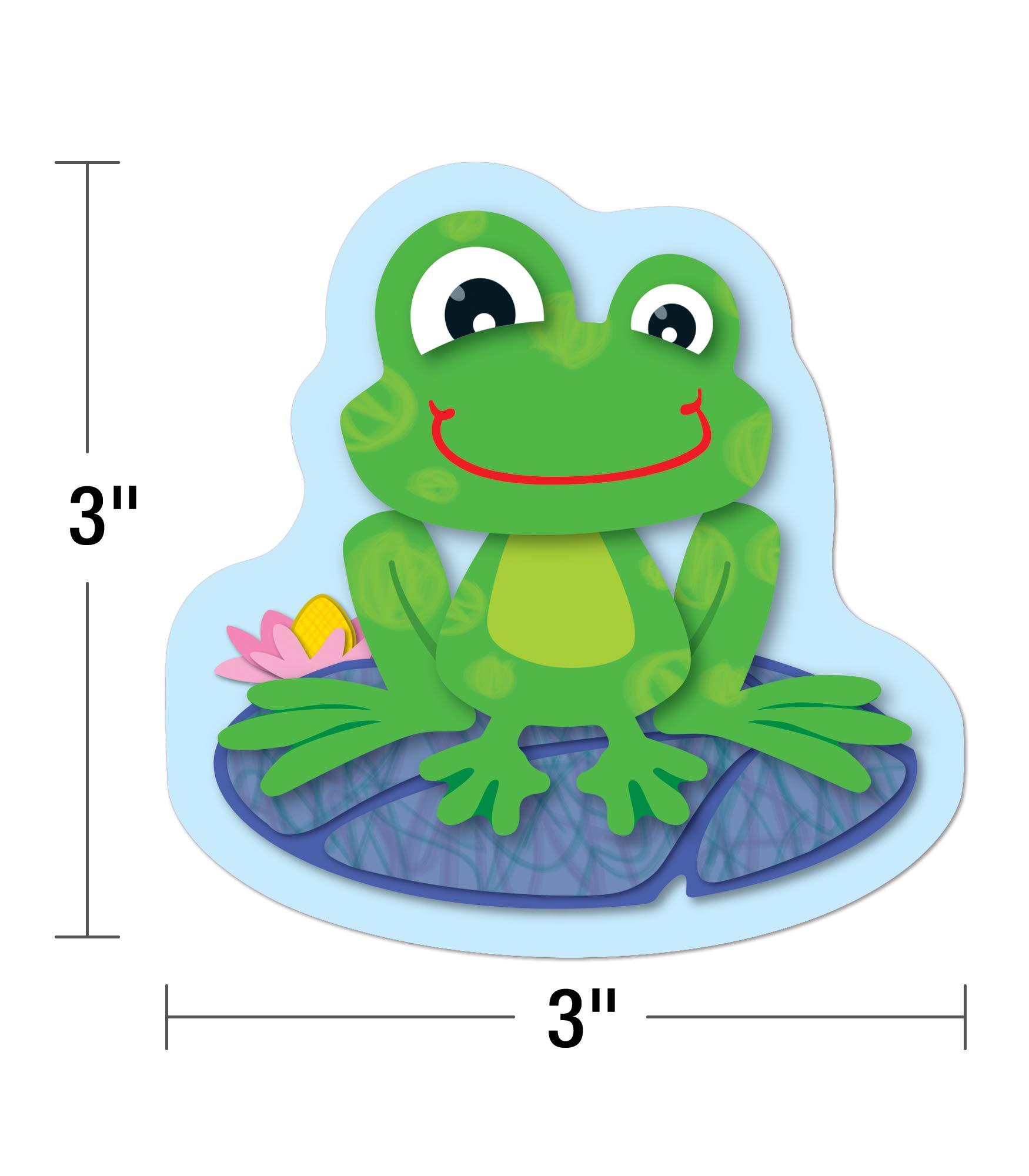120123 Carson Dellosa Funky Frogs Cut-Outs