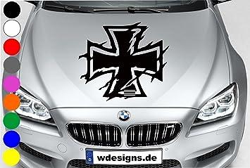 Wdesigns Autoaufkleber Eisernes Kreuz Iron Cross Aufkleber