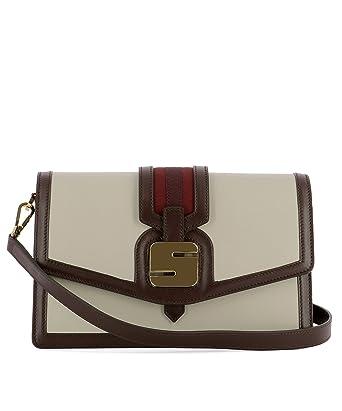 e90dba775b8 Serapian Women's Sgangwll6911m28bc45 Beige Leather Shoulder Bag ...
