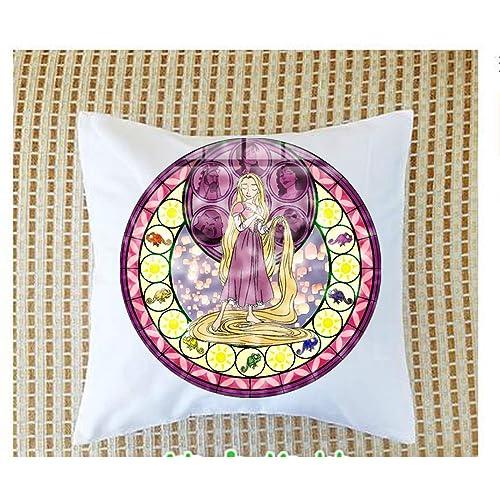 asd Rapunzel - Collar con Colgante de cúpula de Cristal para ...
