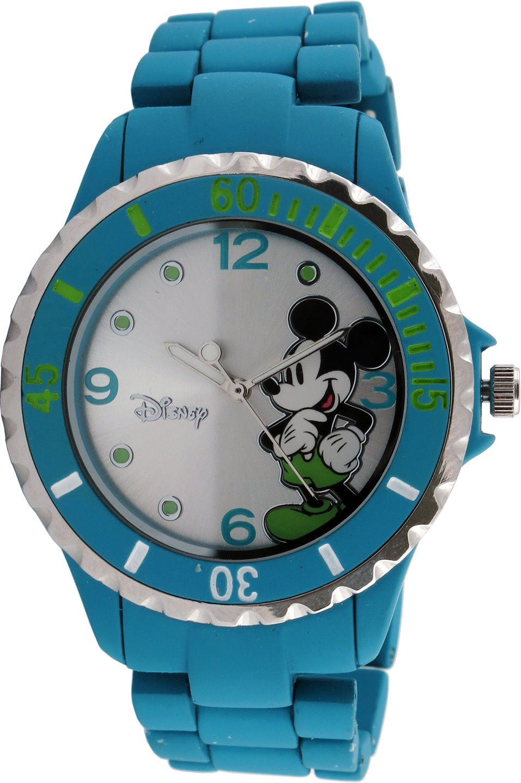Amazon.com: New Disney Mickey Mouse Womens MK2117 Silver ...