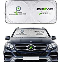 Autaces Sunshade for A-M-G Windshield Visor Cover Car Window Sun Shade UV Protect Car Window Film Compatible with Benz E…
