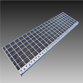 Hervorragend Treppenstufen Metall Stufe / Breite: 80cm Tiefe: 24cm FY78