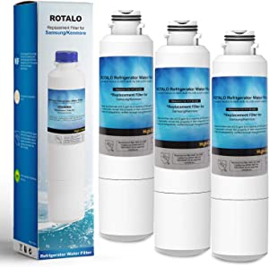 DA29-00020B Refrigerator Water Filter, ROTALO NSF 42&372 Certified Refrigerator Water Filter Replacement for Samsung DA29-00020 Refrigerator Water Filter, Pack of 4