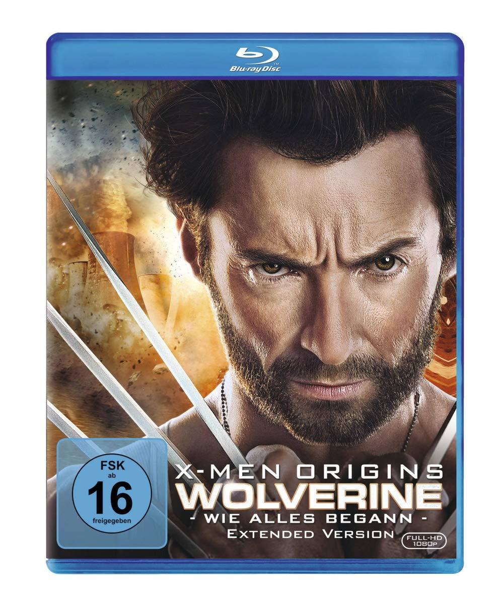X-Men Origins - Wolverine - Extended Version Alemania Blu-ray: Amazon.es: Jackman, Hugh, Reynolds, Ryan, Schreiber, Liev, Monaghan, Dominic, Collins, Lynn, Huston, Danny, Henney, Daniel, Kitsch, Taylor, Durand, Kevin, Hood, Gavin, Jackman, Hugh,