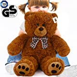 Teddy Bear L-XXXL Size Colour Choice 50cm/ 0.5m/ 20In Kids Soft Plush Teddies Brown Big Large Giant Child Christmas Gift Toys Dolls