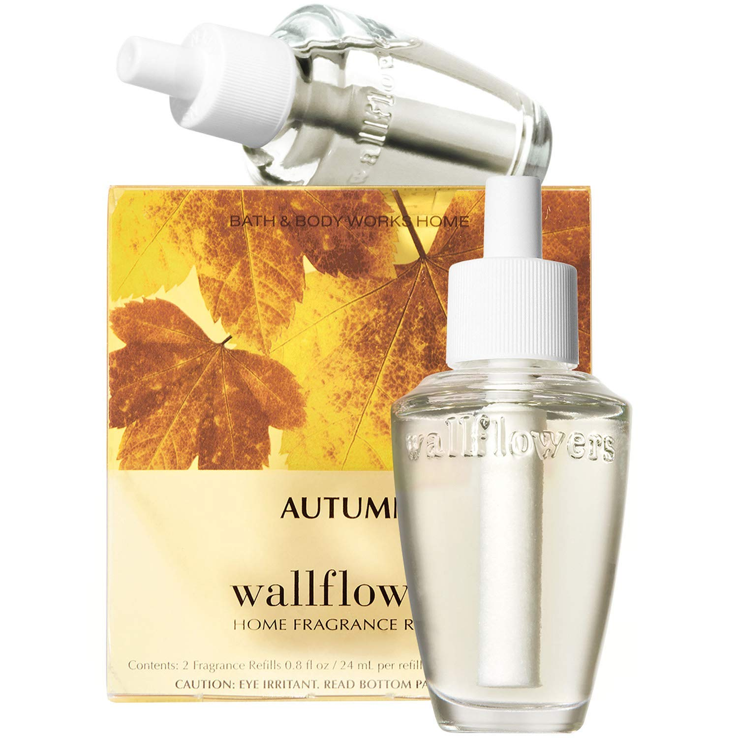 Bath & Body Works Autumn Wallflowers Home Fragrance Refills, 2-Pack