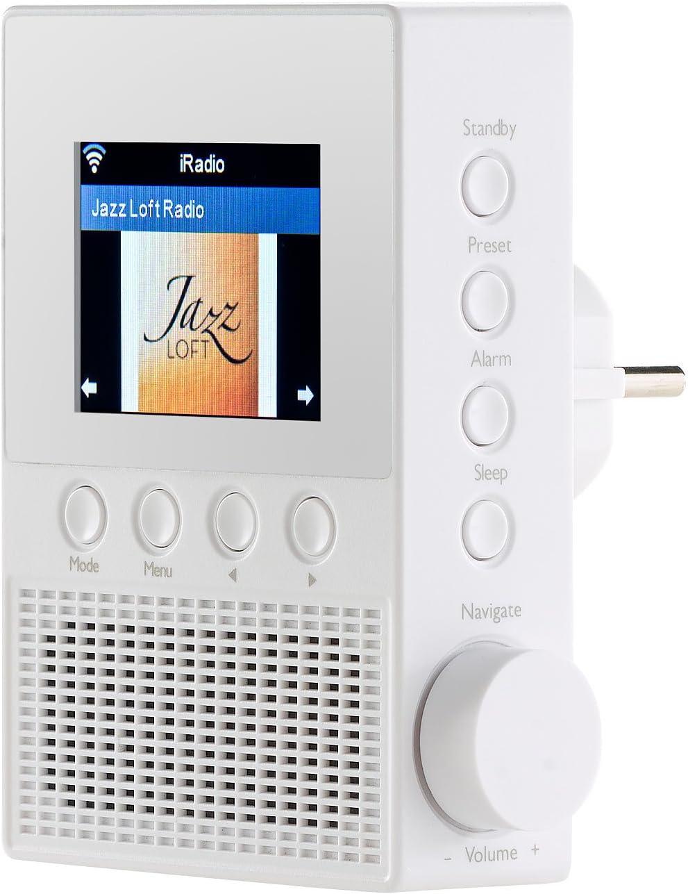 Vr Radio Steckdosenradio Steckdosen Internetradio Amazon De Elektronik