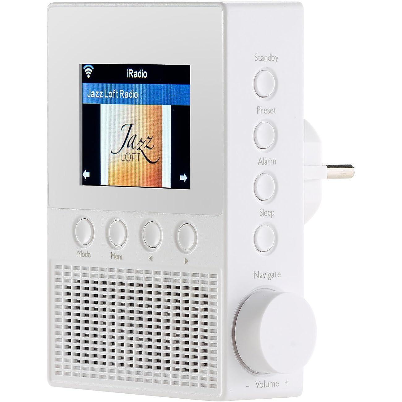 Steckdosenradios werden in ganz unterschiedlichen Größen angeboten.