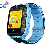 3G Niño Smartwatch,GPS LBS WiFi Position Tracker SOS Niño Relojes de Pulsera Cámara Sistema