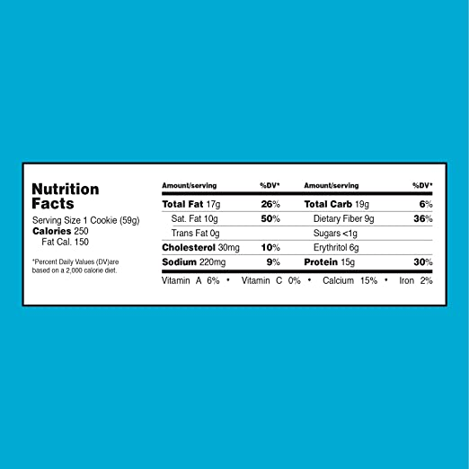 Quest Nutrition Protein Cookie, Chocolate Chip