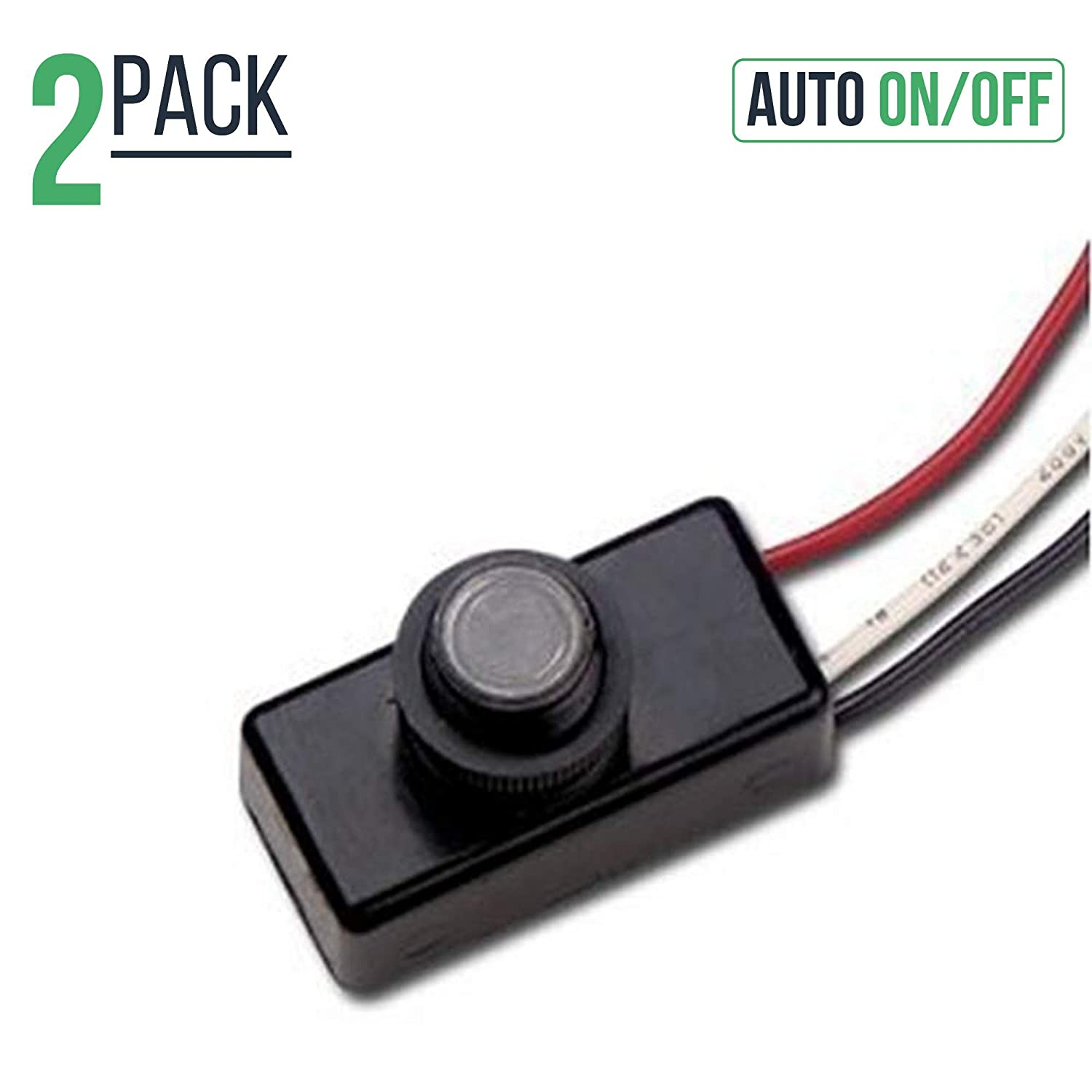 120 Volt Dusk To Dawn Photocell Photoeye Light Sensor Switch Auto 5 Best Images Of Wiring Diagram On Off Use With Fluorescent Incandescent Or Led Bulbs Sockets