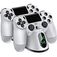 Expresstech @ Doble Estación de Carga Cargador Soporte Rápida con LED para Playstation 4 Mando Inalámbrico PS4 Dualshock…