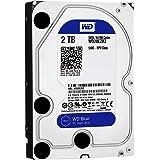 WD 製 Blue モデル 内蔵ハードディスク(HDD) 2TB 3.5インチ ロジテックの保証・無償ダウンロード可能なソフト付【LHD-WD20EZRZ】