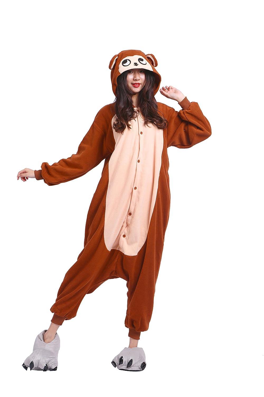 YUWELL Unisex Kigurumi Pigiama Adulto Cosplay Costume Animale Costume