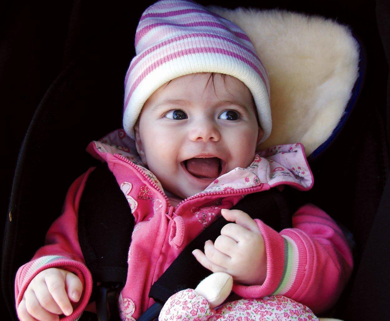 MIOSWSFN Bowron Baby Stroller Lambskin Fleece