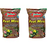 Hoffman 15503 Canadian Sphagnum Peat Moss, 10 Quarts 2-Pack