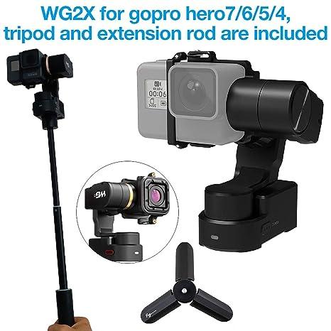 Feiyu WG2X 3-Axis Wearable Gimbal for GoPro Hero 7/6/5/4 ...
