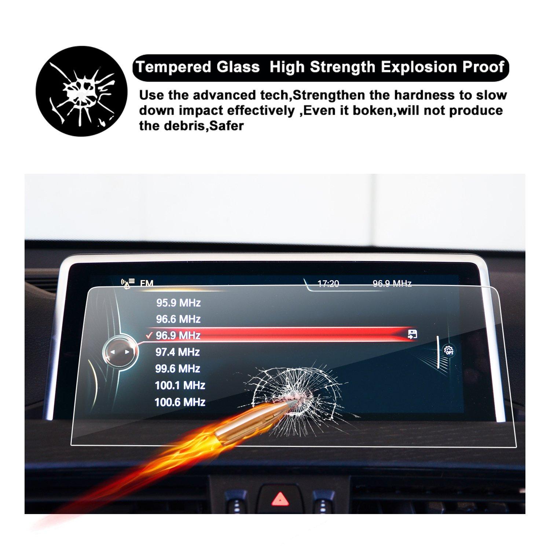 RUIYA Protector de Pantalla de Vidrio Templado para el Sistema de navegaci/ón 2018 BMW X2 F39,L/ámina Transparente,Protector de Pantalla Transparente Crystal HD 8,8 Pulgadas