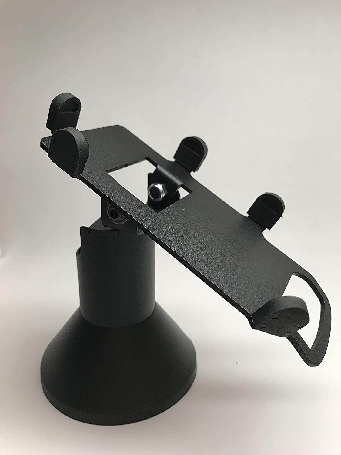 Screw-in and Adhesive Low Swivel and Tilt First Data RP10 PIN Pad Stand