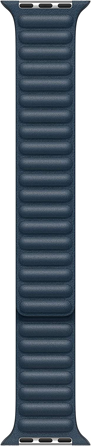 Apple Watch Leather Link (40mm) - Baltic Blue - Small