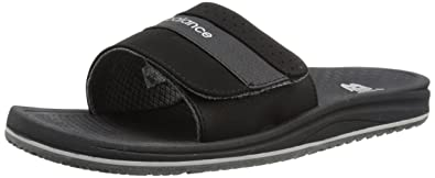 New Balance Men's PureAlign Slide,Black,US 17 4E