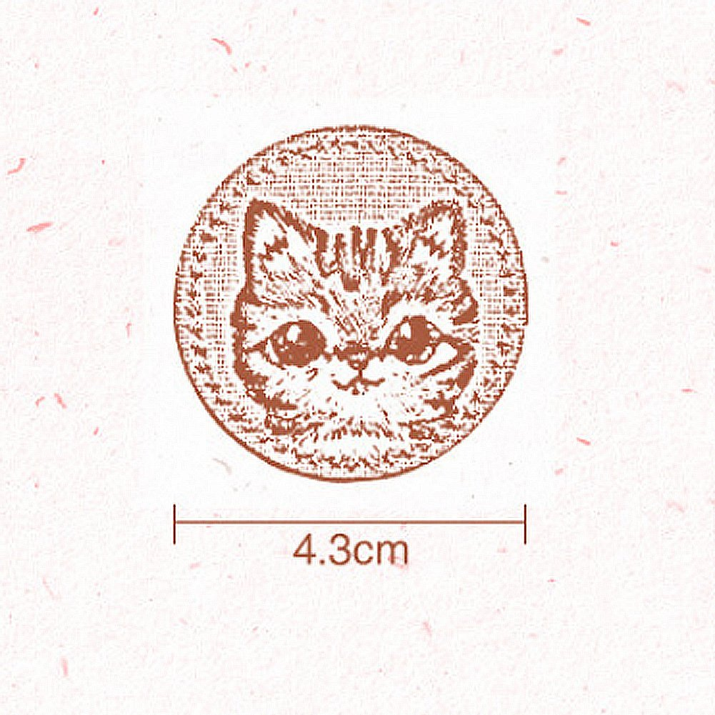 Cute Tiger Small 2 Pieces XUNHUI Iron On Applique Patch