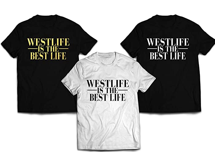 Westlife is the best life reunion T-shirt: Amazon co uk