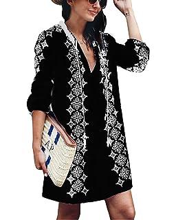 b1be9b9605 Jeasona Women s Cover Ups for Swimwear Beach Coverups Embroidered