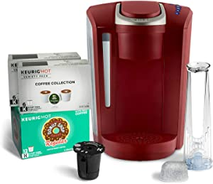 Keurig K-Selects Single-Serve K-Cup Pod Coffee Maker - Red