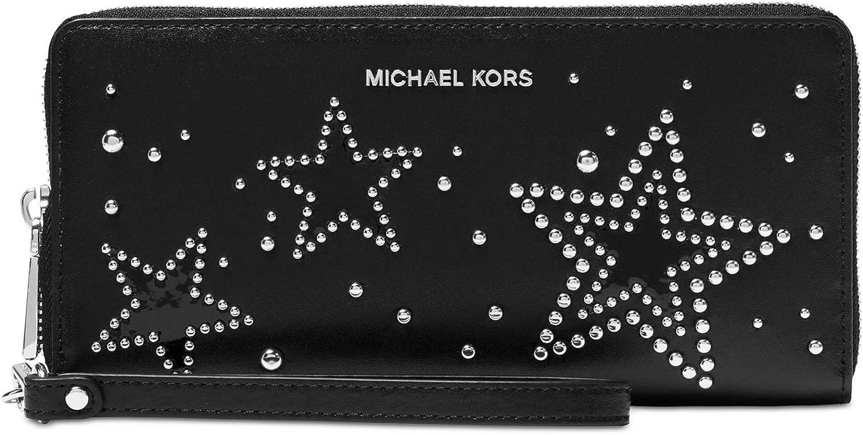 MK studded wallet