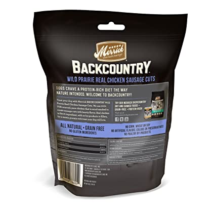 Amazon Merrick Backcountry Wild Fields Real Chicken Sausage