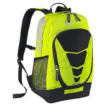 nike max air vapor backpack large black\/volt nike