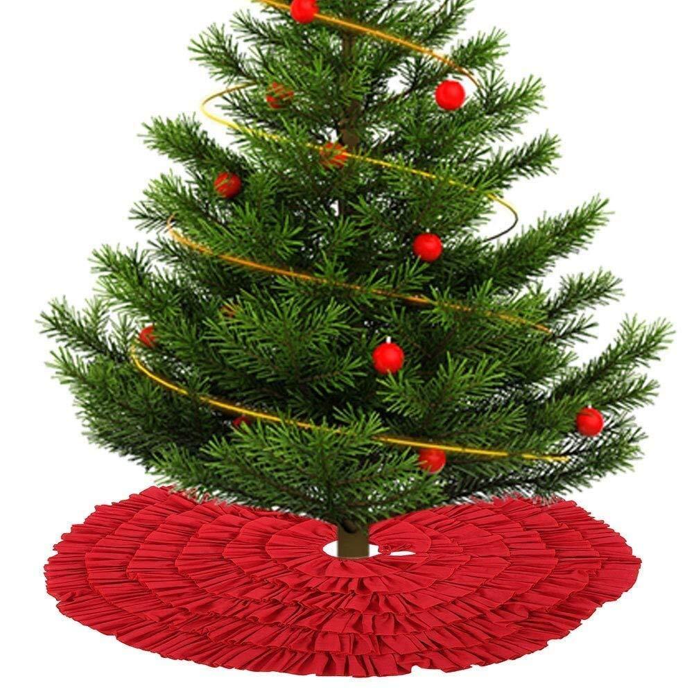 Lixinke Decoraciones de Fiesta de Navidad Falda de la decoración ...