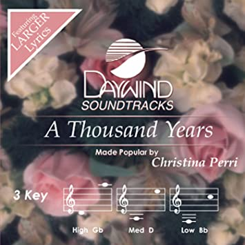 thousand years song downloadming