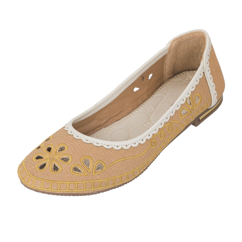 909a63f1f25 Juti Kasoori Casual Wear Flat Belly Latest Arrival Party Wear Casual Wear  Belly Shoes for Women   Girls (41