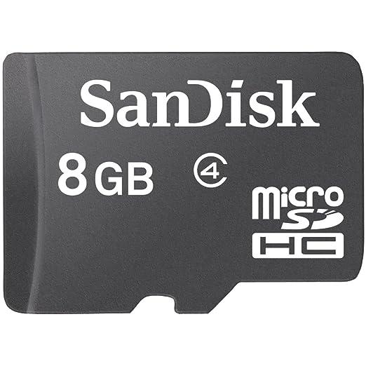 Sandisk 8  GB Class 4 MicroSDHC Memory Card  SDSDQM 008G B35  Micro SD