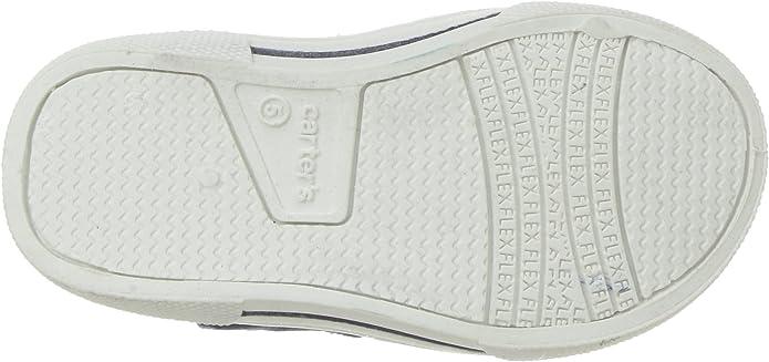 Toddler Damon Navy Carter/'s Shark Slip On Shoes