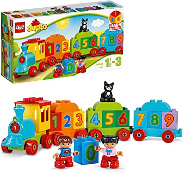Train Baby Toy Award Winning Number Bricks Early Education 1 .5 Year Old Baby