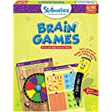 Skillmatics Educational Game: Brain Games (6-99 Years) | Erasable and Reusable Activity Mats | Travel Toy with Dry Erase Mark