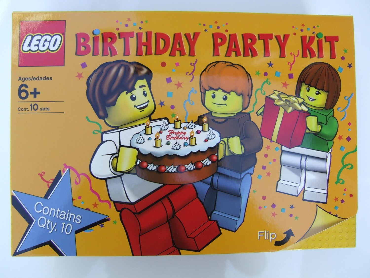 Lego Birthday Party Pack Amazoncouk Welcome