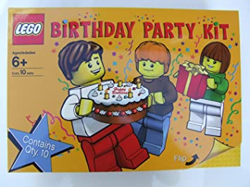 Amazoncom LEGO Set 852998 Birthday Party Kit Materials for 10