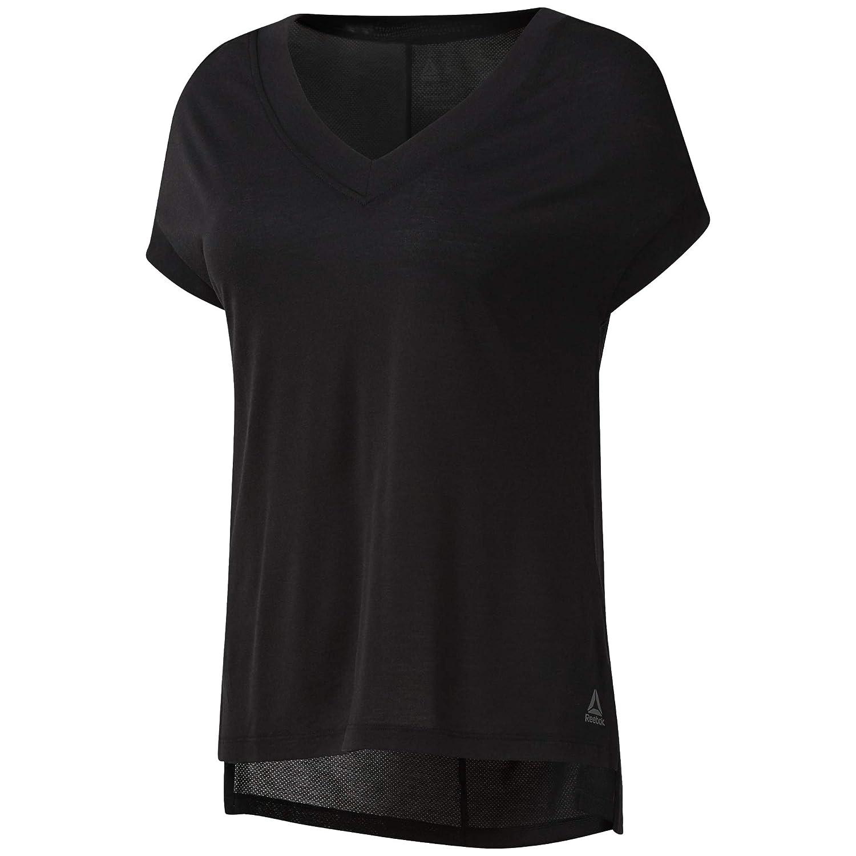 Reebok Damen Wor Sup Detail Tee Unterhemd