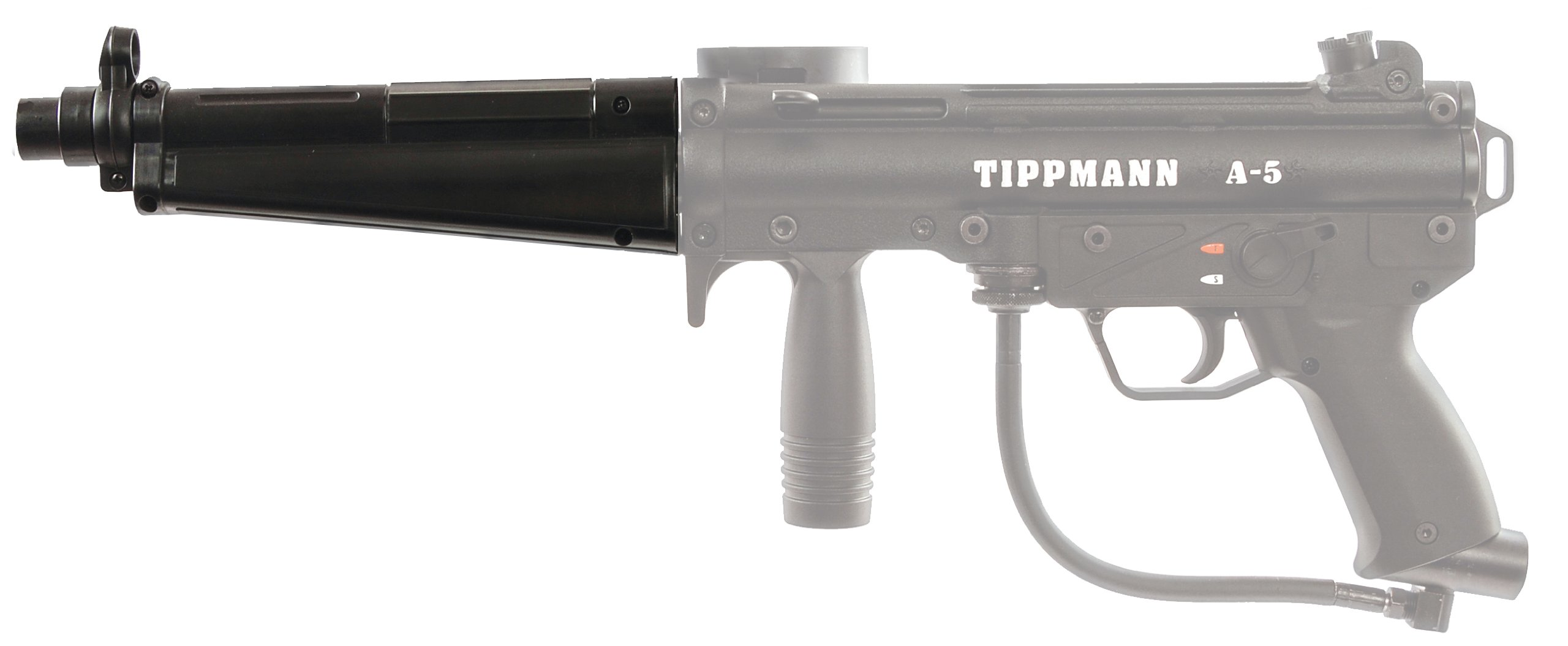 Tippmann A-5 Flatline Barrel with Built in Foregrip by Tippmann