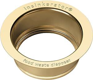 InSinkErator Sink Flange, French Gold, FLG-FG