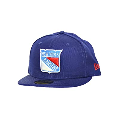 051f0ceb New Era New York Rangers NHL 59Fifty Fitted Hat Athletic Cap Navy Blue/White  10261074