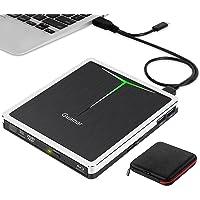External Blu ray Drive,Guamar USB 3.0 Type-C Bluray Burner BD Writer Slim Portable 3D Blu-ray CD DVD Drive for Laptop…