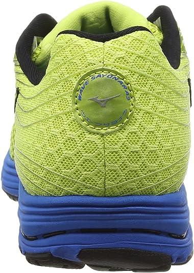 Mizuno - Wave Sayonara 3, Zapatillas de Running Hombre, Verde (Wild Lime/Black/Directoire Blue), 39.5 EU: Amazon.es: Zapatos y complementos
